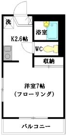 メゾンアイエム2階Fの間取り画像