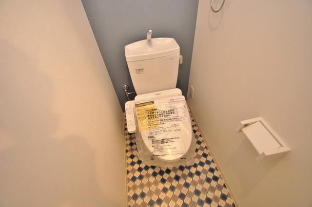 グランエクラ田島 清潔感に溢れたトイレは落ちつける、癒しの空間。