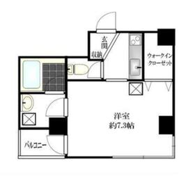 グロース横浜2階Fの間取り画像