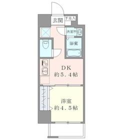 御茶ノ水駅 徒歩12分2階Fの間取り画像