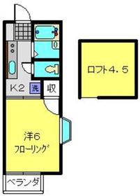 高島町駅 徒歩28分1階Fの間取り画像