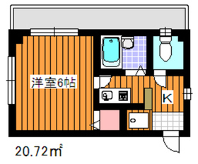 地下鉄赤塚駅 徒歩4分3階Fの間取り画像