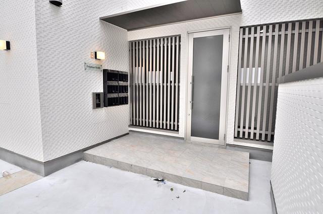 F maison MARE(エフメゾンマーレ) オシャレなエントランスは安心のオートロック完備です。