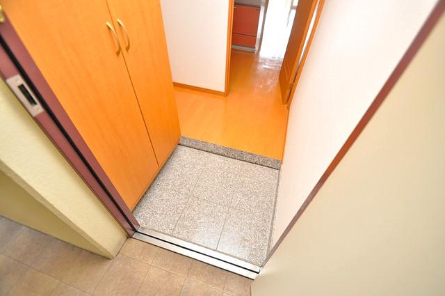 メゾンフレール 玄関を開けると解放感のある空間がひろがりますよ。