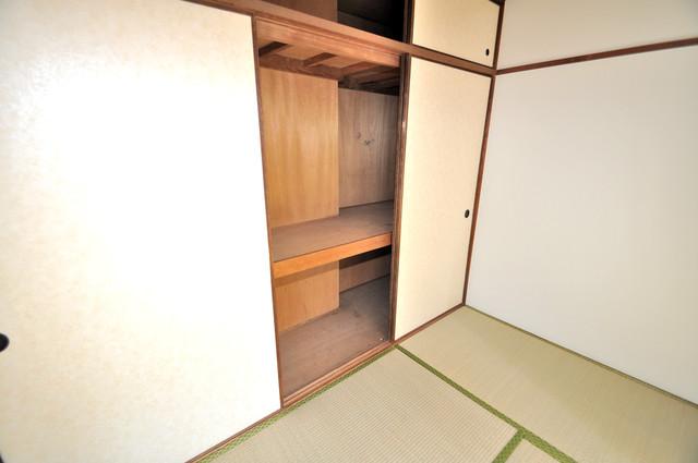 小阪ビル もちろん収納スペースも確保。いたれりつくせりのお部屋です。