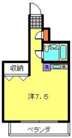 大貫ビル8階Fの間取り画像