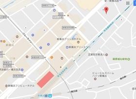 LA.PRYLE新横浜案内図