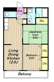 シャングリラコスモ5階Fの間取り画像