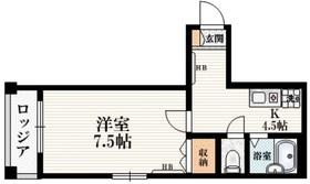 エクセリア・シオン2階Fの間取り画像