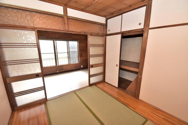 大蓮南2-15-9 貸家 6畳の和室が癒しの空間となりますね。