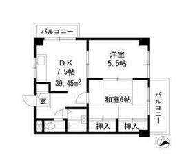 トキ弐番館3階Fの間取り画像
