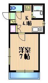 カーサ・レフィナード1階Fの間取り画像
