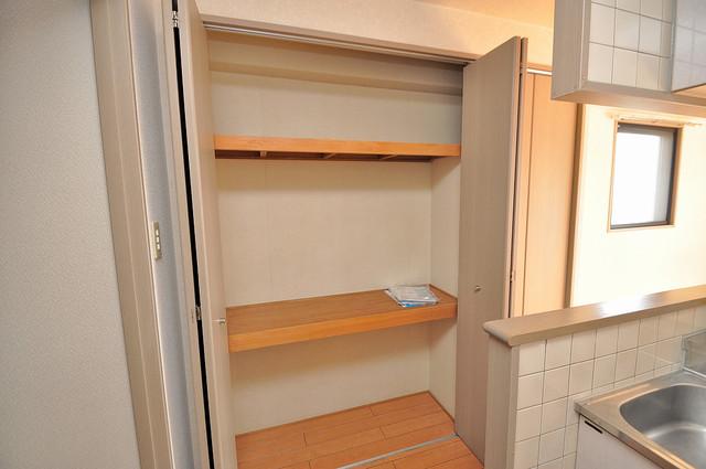 ティーアップスクエア もちろん収納スペースも確保。お部屋がスッキリ片付きますね。