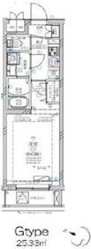 ディアレイシャス溝の口(ディアレイシャスミゾノクチ)地下1階Fの間取り画像