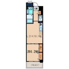 iランド川崎9階Fの間取り画像