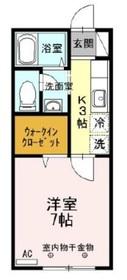 TOKIO-CF1階Fの間取り画像