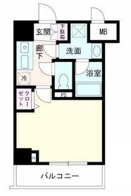ルクシェール横濱生麦5階Fの間取り画像