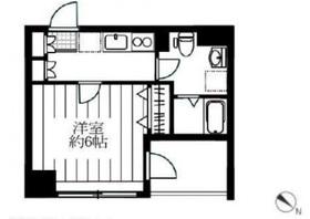 レグラス横浜西口7階Fの間取り画像