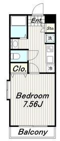 ホームベース3階Fの間取り画像