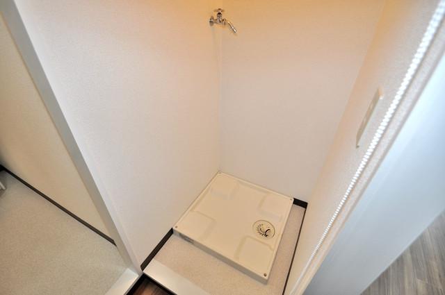 メダリアン巽 室内に洗濯機置き場があれば雨の日でも安心ですね。