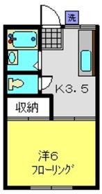 横浜駅 バス15分「ひじりが丘」徒歩3分1階Fの間取り画像