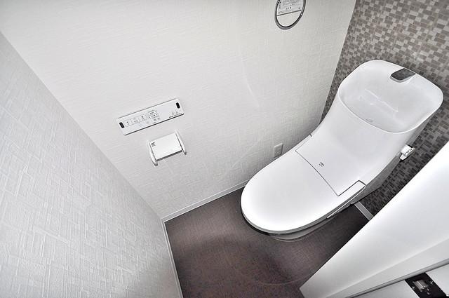 ForRealize友井 スタンダードなトイレは清潔感があって、リラックス出来ます。