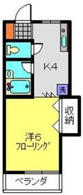 高田駅 徒歩10分2階Fの間取り画像