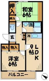 シルクトゥリー3階Fの間取り画像