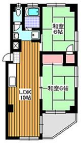 高島平駅 徒歩6分3階Fの間取り画像