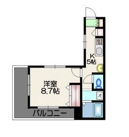 ハピネスコート3階Fの間取り画像