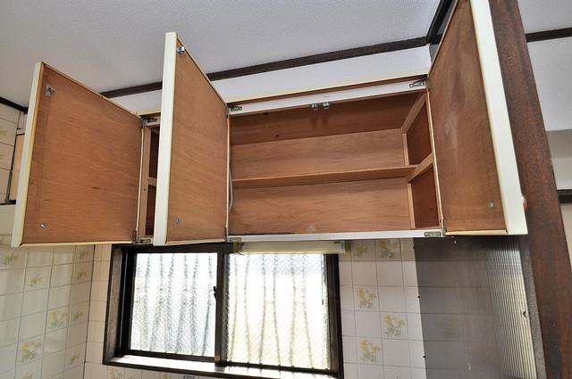 メゾン・ダイコー キッチン棚も付いていて食器収納も困りませんね。