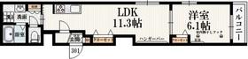 Felice Kitazawa3階Fの間取り画像