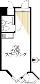 東京ベイビュウ4階Fの間取り画像
