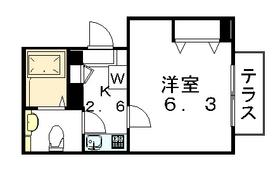 グラシア駒沢公園通り1階Fの間取り画像