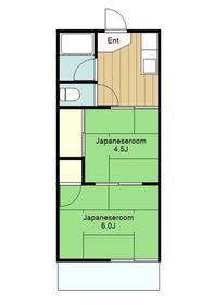本厚木駅 バス20分「松蓮寺」徒歩4分2階Fの間取り画像