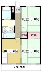 朝日のあたる家2階Fの間取り画像
