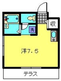 武蔵新城駅 徒歩28分1階Fの間取り画像