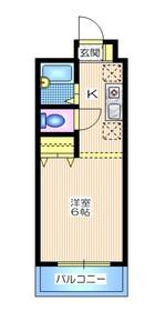 ビバーチェ3階Fの間取り画像