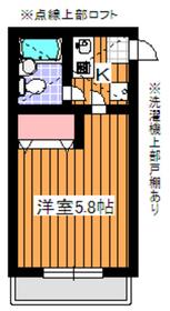 ピークハイム和光I2階Fの間取り画像