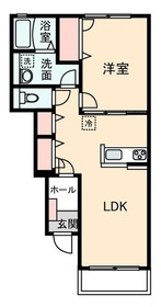 アロアージュ11階Fの間取り画像