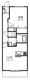 コンセール メゾン2階Fの間取り画像