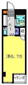 日吉駅 徒歩6分3階Fの間取り画像