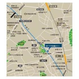 MFPR目黒タワー案内図