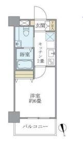 J-Cloud横浜鶴見6階Fの間取り画像