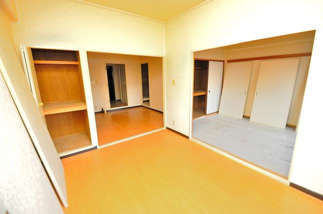 ラ・フォーレ西堤 解放感たっぷりで陽当たりもとても良いそんな贅沢なお部屋です。