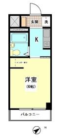 パレス戸越銀座 110号室