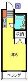 和田町駅 徒歩15分3階Fの間取り画像