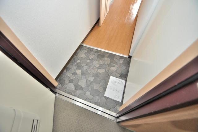 M'プラザ布施弐番館 素敵な玄関は毎朝あなたを元気に送りだしてくれますよ。