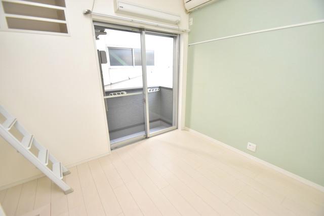 プログレス長瀬 明るいお部屋は風通しも良く、心地よい気分になります。