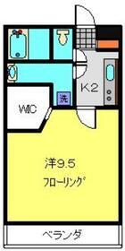 ライフモリ6号館3階Fの間取り画像